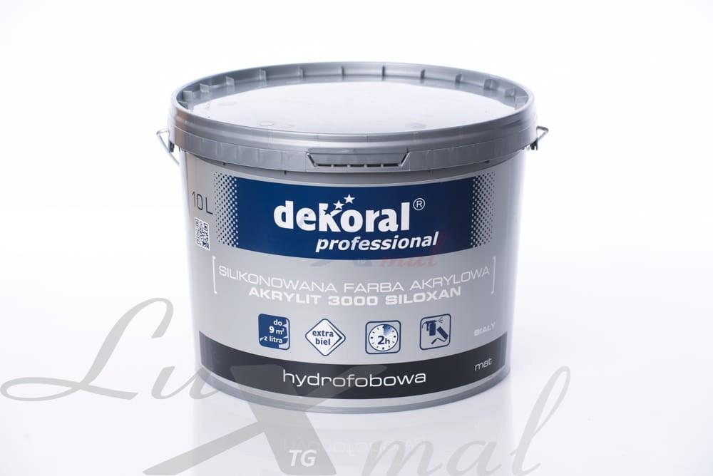 Akrylit Siloxan Dekoral Professional Baza Ln 10 L