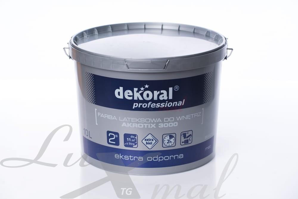 Dekoral Professional Akrotix Baza Ln 10 L