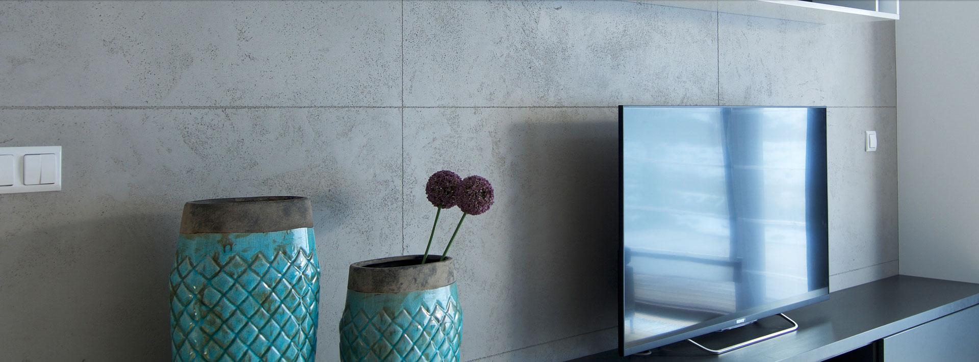 Efekt betonu na ścianie - jak go uzyskać?