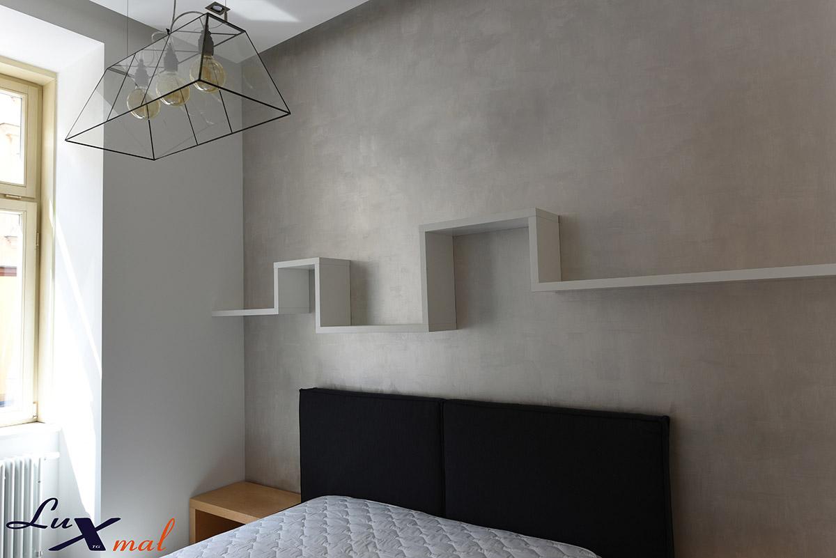 Tynk dekoracyjny w sypialni, czyli postaw na eleganckie i szykowne ściany