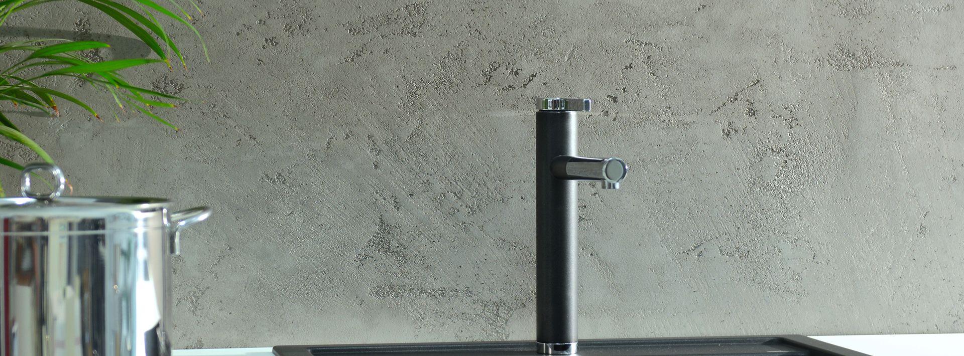 Nowoczesne aranżacje wnętrz – beton dekoracyjny!